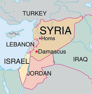 Syria-Area-Map